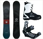 NEW 2018 Camp7 Redwood + APX Bindings and Boots Men's Complete Snowboard Package
