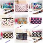 Hot Womens Jacquard Satin Square Makeup bag Cosmetic Travel Pouch Handbag Gift