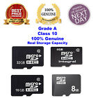 Genuine Quality 4GB 8GB 16GB 32GB SDHC Class 10 Micro Memory SD Card