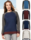 SOL'S Ladies Contrast Sleeves Sweat Shirt Jumper - Casual Smart Stylish Fashion