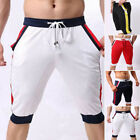 Men Summer Casual Sport Gym Pants Shorts Trousers Running Jogging Beach Pants AA