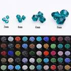 Bicone Crystal Glass Faceted Loose Spacer Beads Lot 3mm 4mm 6mm 8mm Diy Jewelry