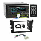 Pioneer CD USB Bluetooth Stereo 2 Din Dash Kit Harness for 1999-03 Acura TL CL