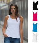 SF Skinnifit Ladies Modern Stretch Soft Tank Vest Top Colour Choices