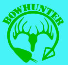 BOW HUNTER circle on High quality Vinyl Decal Sticker    buy 2 get 1 free