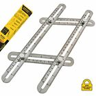 AngleGenie Multi Angle Measuring Ruler with Unique Soft-Lock Professional Steel