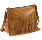 WOMEN Rimor Maria Fringed Cross Body GENUINE LEATHER BY HYDESTYLE LB53 RRP £55