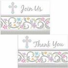Blessed Day Invitations or Invites and Thank you set Party