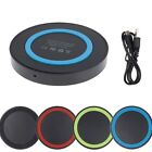 Qi Wireless Power Charging Charger Pad Adapter Mat for Apple iPhone 8 Plus X 10