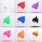 Adult Troll Style Festival Party Colourful Elf Pixie Full Wig Cartoon Cosplay