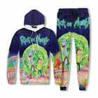 Women/Men Rick and Morty Sweatershirt Unisex Printed Hoodie Sweater Jogger Pants