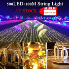 10m/20m/35m/50m/100m Led string fairy lights lighting Xmas wedding party Lamps