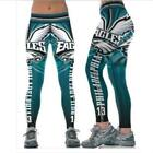 Legging Philadelphia Eagles No.13 printed high waist wide belt legging S-4XL 631