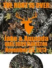 Camo The hunt is over Wedding Koozies no minimum beer can party favors 97675968
