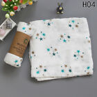 New 2 Layer Bamboo Fiber Swaddle Blankets Muslin Bamboo Cotton Baby Swaddle Wrap