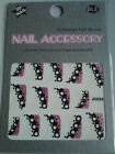DECORATIVE 3D NAIL ART STICKERS - XMAS/BIRTHDAY/SPECIAL PARTIES/SPORTING EVENTS