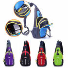 2In1 Waterproof Sports Outdoor Chest Bag Crossbody Shoulder Casual Diagonal Pack
