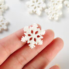 Diy Decoration 10pc Merry Christmas Tree Hanging Ornaments Resin White Snowflake