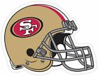 San Francisco 49ers Logo Vinyl Sticker Decal *SIZES* Cornhole Truck Wall Helmet $14.2 USD on eBay