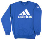 Adidas Performance Crewneck Sweatshirt Pullover Mens Royal Blue