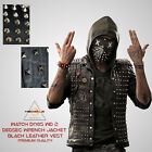 Watch Dogs WD 2 Dedsec Wrench Black Vest Halloween Costume Jacket BEST DEAL