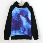 Unisex Galaxy Comic Stars Astronomy Printed SweatersTop Shirt Jumper Hoodie 1 Pc