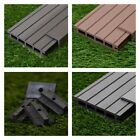5 Square Metres of Wooden Composite Decking Inc Boards, Edging & Fixing Packs