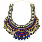Ethnic Choker Necklace African Tribal Boho Maasai for Women collar Handwork