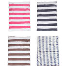 Stripe Pet Fleece Cushion Dog Cat Blanket Bed Mat for Cats Dogs Puppies 2 Sizes