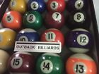 "SINGLE  2 1/4"" (57mm) OUTBACK QUALITY KELLY POOL BALL -ANY NUMBER  1 - 15 HERE $7.99 AUD on eBay"