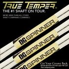 New Spinner True Temper Dynamic Gold Wedge Shaft (Choose Your Set)