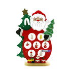 DIY Chirstmas Decorations desktop Wooden Santa Clause Ornaments Christmas Gift