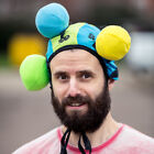 Novelty Butt Head Game Velcro Hat with 3 Balls funny party game secret santa