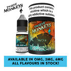 Twelve Monkeys - Tropika E Liquid - 3 X 10ml - 0mg/3mg/6mg - All Flavours