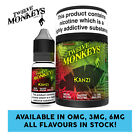 Twelve Monkeys - Kanzi E Liquid - 3 X 10ml - 0mg/3mg/6mg - All Flavours