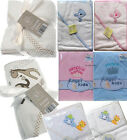 New Baby Boy Girls Hooded Robe Hooded Towel Prince/Princess 100% Cotton