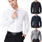 CLEAR! Stylish Mens Long Sleeve Slim Fit Shirt Tops Casual Formal Luxury T-Shirt