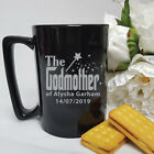 Godmother Gift - Personalised Ceramic Coffee Mug - Add a Name & Message
