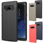 Ultra Thin Leather Shockproof Rubber Phone Case Cover For Samsung Galaxy Note 8