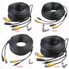 50ft-150ft BNC CCTV DVR Video Power Cable Surveillance Security Camera Wire 1Pcs