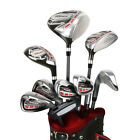"Powerbilt Pro Power Men's Package Golf Set RH & LH (Std,  +1"" over) New!"