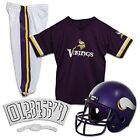 Minnesota Vikings Youth Uniform Ages 7-9 Kids Helmet Pants Jersey Soccer Fan NFL on eBay