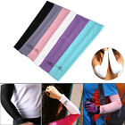 1 Pair Cooling Arm Sleeves Cover UV Sun Protection Golf Cycling Outdoor Sports