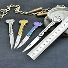 1x Camping Survival Tool Pocket Folding Key Chain Sharp Knife Cutter Tackle Pro