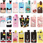 For OPPO iPhone Case Cover HOT3D Cute Dolls Kawaii Cartoon Animals Soft Silicone