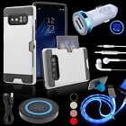 Car Charger QI Pad Card Case LED Cable Headset Stand for Samsung Galaxy Note 8