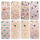Bird Animal Clear Ultra Thin TPU GEL Transparent Case Cover Skin for iPhone 6 6S
