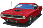 Plymouth 1970 Barracuda Cuda coupe canvas art print by Richard Browne