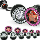 Titan Anodized Tunnel Multi Zirconia Star 5-12mm NEW - Piercings from coolbody