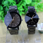 Couple Watches Men Women Compass Stainless Steel Quartz Analog Wrist Watch Gifts